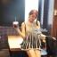 Lady Ribbon เสื้อแขนกุด แต่งลูกไม้โครเชต์ ผ้าแก้วแต่งปกเสื้อ thumbnail 2