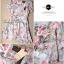 Lady Ribbon Blooming Pastel Dress เดรสพิมพ์ลายดอกไม้สีพาสเทล thumbnail 11
