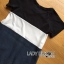 Lady Ribbon Casual Colorblock Denim Dress thumbnail 7