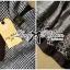 Lady Ribbon เดรสแขนกุดลายตาราง ชายกระโปรงขาว ดำ thumbnail 12