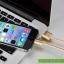 สายชาร์จแบบถักอย่างดี Lightning สำหรับ iphone 6, ipad mini 2, ipad air ยี่ห้อ GOLF thumbnail 6