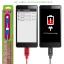 สายชาร์จหุ้มตาข่ายอย่างดี Micro USB สำหรับมือถือสมาร์ทโฟนทั่วไป ยี่ห้อ GOLF thumbnail 5