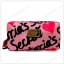 &#x2764️ VS Signature Print Pink with Black Cosmetic Pouch thumbnail 1
