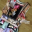 Lady Ribbon Orchid Printed Satin Long Dress with Daisy Belt thumbnail 7