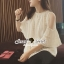 Seoul Secret Sweety Lady Ivory Blouse thumbnail 7