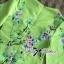 Lady Ribbon Eastern Blossom Print Dress in Green thumbnail 8