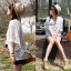 Lady Ribbon เสื้อสีขาวประดับลูกไม้ ทรงหลวม thumbnail 5