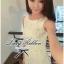 Lady Ribbon V-back Lace Dress เดรสแขนกุดผ้าลูกไม้สีขาว ด้านหลังคอวี thumbnail 5