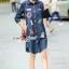Seoul Secret Nifty&Chic Denim Dress Shirt thumbnail 4