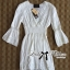 Lady Ribbon Lady Grace Insert Crochet Kaftan Dress in White thumbnail 7