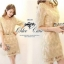 Luxury Gold Embroidery Dress เดรสสุดหรู ผ้าลูกไม้ โทนสีทอง thumbnail 9