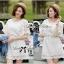 Lady Ribbon เดรสสีขาว ฉลุลายและปักผ้าลูกไม้สไตล์วินเทจ thumbnail 7