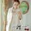 Luxury Lace Dress เดรสผ้าลูกไม้ ทรงคอปิด แต่งเพชรและมุก thumbnail 6