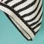 เสื้อผ้าชีฟองเนื้อผสม พิมพ์ลายทางสีดำ มีกระเป๋าหน้า thumbnail 8