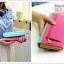 Triple Wallet กระเป๋าสตางค์ทรงยาว 3 สีสวย thumbnail 6