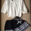 Lady Ribbon Black Graphic Skirt กระโปรงสีดำ ทอลายกราฟฟิก thumbnail 5