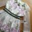Lady Ribbon Organza Dress เดรสปักลายดอกไม้ thumbnail 7