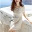 Lady Ribbon Sweet Honey Lace Dress เดรสผ้าลูกไม้ลายดอกสีขาว thumbnail 1