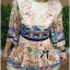 Lady Ribbon Floral Embroidered Dress thumbnail 1