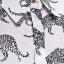 MNG เสื้อเชิ้ตแขนยาว ผ้าชีฟอง พิมพ์ลายเสือดาว S,M,L thumbnail 8