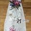 Lady Ribbon Mix Orchid Printed Chiffon Maxi Dress thumbnail 7