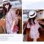 Molly Print Dress ชุดเดรสพิมพ์ลาย ผ้าชีฟองเกาหลี thumbnail 3
