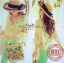 Lady Ribbon Bohemian pastel blouse เสื้อปักดอกไม้ สีพาสเทล thumbnail 6