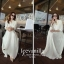 Icevanilla White Luxury Korea Chiffon Dress thumbnail 5