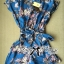 Lady Ribbon Blue Floral Printed Jumpsuit thumbnail 8