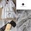 Lady Ribbon Chiffon Dress เดรสผ้าชีฟอง ปักลายลูกไม้ อัดพลีทด้านหลัง thumbnail 7