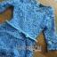 Lady Ribbon เดรสผ้าลูกไม้สีฟ้าพร้อมเข็มขัด thumbnail 8