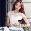 Seoul Secret เสื้อลูกไม้ทอลายดอกเดซี่เล็กๆ thumbnail 1
