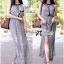 Lady Ribbon Paisley Chiffon Maxi Dress thumbnail 5