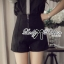 Lady Ribbon Monochrome Shirt and Hot Pants Set thumbnail 4