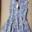 Lady Ribbon Floral Print Cut-Shoulder Mini Dress thumbnail 11