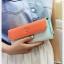 Triple Wallet กระเป๋าสตางค์ทรงยาว 3 สีสวย thumbnail 14