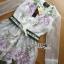 Lady Ribbon Organza Dress เดรสปักลายดอกไม้ thumbnail 6