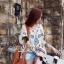 Seoul Secret เสื้อปักลายสไตล์สาวอินเดียนแดง thumbnail 2