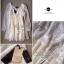 Lady Ribbon Lace Dress เดรสชีฟองแขนยาว ชายระบายลูกไม้ thumbnail 12