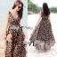Lady Ribbon Sassy Leopard Maxi เดรสชีฟอง ลายเสือดาว thumbnail 2