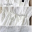 Lady Ribbon Lace Maxi แม็กซี่ผ้าลูกไม้สีขาว ผูกโบว์ช่วงเอว thumbnail 10