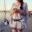 Odee Cutie มินิเดรสผ้าชีฟอง ทรงแขนและชายเสื้อระบายพริ้วสวย thumbnail 8