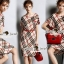 Seoul Secret Burberry Red Ribbon Dress thumbnail 5