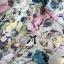 Lady Ribbon Pastel Floral Printed Sleeveless Jumpsuit thumbnail 9