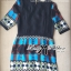 Bohemian Style Dress มินิเดรสแขนสั้น ลายกราฟฟิก thumbnail 10