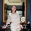 Icevanilla Luxury See-through White Lace Dress thumbnail 5