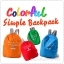 Colorful Simple Backpack กระเป๋าเป้พับได้ thumbnail 1