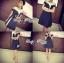 Lady Ribbon Chic Bold Dress เดรสตัดแต่งทรงสุดชิค thumbnail 5