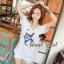 Seoul Secret Navy Doggy Print Tang-Top Dress thumbnail 7