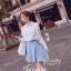 IceVanilla Pearl&Diamond Stitch Chiffon Shirt thumbnail 7